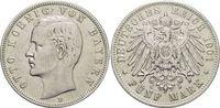 5 Mark 1901  D Bayern Otto 1886-1913. Kl.Rf., sehr schön  29,00 EUR  zzgl. 3,00 EUR Versand