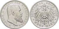 5 Mark 1907  F Württemberg Wilhelm II. 1891-1918. Min.Rf., sehr schön -... 45,00 EUR  zzgl. 3,00 EUR Versand