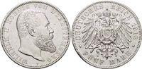 5 Mark 1913  F Württemberg Wilhelm II. 1891-1918. Min.Rf., sehr schön -... 59,00 EUR  zzgl. 3,00 EUR Versand