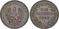 Für Hohenzollern, CU-Kreuzer 1 1852  A Brandenburg-Preussen Friedrich W... 189,00 EUR kostenloser Versand