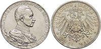 3 Mark 1913  A Preußen Wilhelm II. 1888-1918. Min.Rf., vorzüglich  22,00 EUR  zzgl. 3,00 EUR Versand