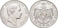 Vereinstaler 1863 Baden-Durlach Friedrich I. 1852-1907. Min.Kr.a.Vs., ... 249,00 EUR kostenloser Versand