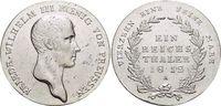 Taler 1812  A Brandenburg-Preussen Friedrich Wilhelm III. 1797-1840. K... 169,00 EUR kostenloser Versand