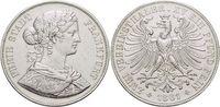Doppeltaler 1861 Frankfurt-Stadt  Kl.Kr., fast vorzüglich  195,00 EUR kostenloser Versand