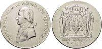 Taler 1799  B Brandenburg-Preussen Friedrich Wilhelm III. 1797-1840. se... 249,00 EUR kostenloser Versand