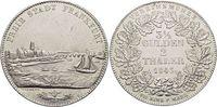 Doppeltaler 1843 Frankfurt-Stadt  Kl.Kr., fast vorzüglich  395,00 EUR kostenloser Versand