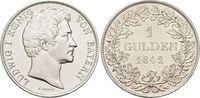 Gulden 1842 Bayern Ludwig I. 1825-1848. vorzüglich +  99,00 EUR  zzgl. 3,00 EUR Versand