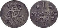 Pfennig 1797  A Brandenburg-Preussen Friedrich Wilhelm II. 1786-1797. s... 15,00 EUR  zzgl. 3,00 EUR Versand