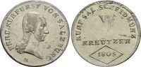 5 Kreuzer 1805  M Salzburg-Erzbistum Kürfürst Ferdinand 1803-1806. Schw... 79,00 EUR  zzgl. 3,00 EUR Versand