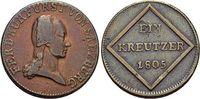 CU-Kreuzer 1805 Salzburg-Erzbistum Kürfürst Ferdinand 1803-1806. vorzüg... 15,00 EUR  zzgl. 3,00 EUR Versand