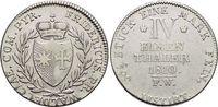 1/4 Taler 1810  FW Waldeck Friedrich 1763-1812. Selten, sehr schön +  159,00 EUR kostenloser Versand