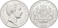 Doppeltaler 1860 Bayern Maximilian II. Joseph 1848-1864. Gereinigt, mi... 775,00 EUR kostenloser Versand