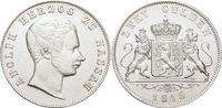 Doppelgulden 1846 Nassau Adolph 1839-1866. Gereinigt, min.Kr., vorzügli... 369,00 EUR kostenloser Versand