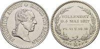 1/6 Taler 1827  S Sachsen-Albertinische Linie Friedrich August I. 1806-... 49,00 EUR  zzgl. 3,00 EUR Versand