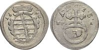 Dreier 1690 Sachsen-Coburg Albrecht III. 1680-1699. sehr schön - vorzüg... 29,00 EUR  zzgl. 3,00 EUR Versand