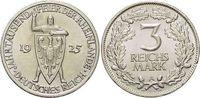 3 Mark 1925  A Weimarer Republik  Winz.Rf., vorzüglich - Stempelglanz  49,00 EUR  zzgl. 3,00 EUR Versand
