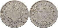 Rubel 1813 Rußland Alexander I. 1801-1825. Rf., fast sehr schön  49,00 EUR  zzgl. 3,00 EUR Versand