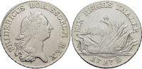 Taler 1772  A Brandenburg-Preussen Friedrich II. 1740-1786, Münzstätte ... 275,00 EUR kostenloser Versand