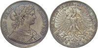 Doppeltaler 1861 Frankfurt-Stadt  Schöne Patina, sehr schön - vorzüglic... 195,00 EUR kostenloser Versand