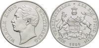 Vereinstaler 1864 Württemberg Wilhelm I. 1816-1864. vorzüglich +  225,00 EUR kostenloser Versand