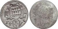 Einseitiger 1/2 Kreuzer 1741 Württemberg Karl Friedrich 1738-1744. fast... 49,00 EUR  zzgl. 3,00 EUR Versand