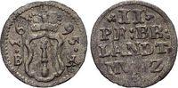 2 Pfennig 1695  BH Brandenburg-Preussen Friedrich III. 1688-1701. Kl.Sf... 39,00 EUR  zzgl. 3,00 EUR Versand