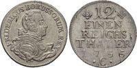 1/12 Taler 1755  C Brandenburg-Preussen Friedrich II. 1740-1786, Münzst... 25,00 EUR  zzgl. 3,00 EUR Versand
