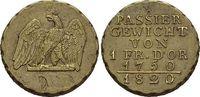 Messing-Passiergewicht 1820 Brandenburg-Preussen Goldmünzengewichte 175... 129,00 EUR kostenloser Versand