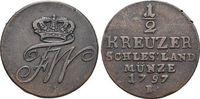 CU-1/2 Kreuzer 1797  B Brandenburg-Preussen Friedrich Wilhelm II. 1786-... 29,00 EUR  zzgl. 3,00 EUR Versand