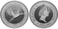 2 Dollar 1996 Australien Kookaburra 2 Ounces Silver Stempelglanz im Kap... 69,95 EUR  zzgl. 10,00 EUR Versand