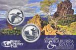 2 Dollar 2011 Australia Australia Koala & Kookaburra 2011 WMF Berlin Unc  84,95 EUR  zzgl. 10,00 EUR Versand