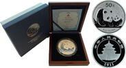 50 Yuan 2011 China Panda 5oz Silver Proof in Original Box with COA  399,50 EUR