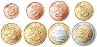 Finland 3,88 Euro 2002 Unc Complete Euro set