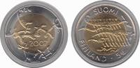 5 Euro 2007 Finland 90 years of Independence. Bu in Capsule with COA  17,95 EUR  zzgl. 10,00 EUR Versand