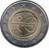 2 Euro 2009 France 10 years EMU Unc  4,95 EUR  +  10,00 EUR shipping