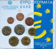 3,88 Euro 2002 Greece Greek Issue! Bu set  19,95 EUR  +  10,00 EUR shipping