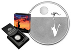 Australien 1 Dollar 2012 $1 Silver Proof Kangaroo at Sunset coin