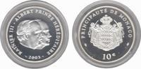 10 Euro 2003 Monaco Albert and Rainier Proof in Capsule  182,50 EUR  zzgl. 10,00 EUR Versand
