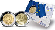 2 Euro 2015 Netherlands 30 Years of European Flag Bu in Coincard  14,95 EUR