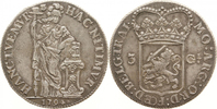 3 Guilder 1794 Netherlands / Province Utrecht Women next to Altar. Very... 170,00 EUR