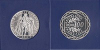 100 Euro 2011 France Hercules Bu in original Packaging  124,50 EUR  zzgl. 10,00 EUR Versand