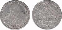 1/6 Thaler 1764 Schwarzburg - Sonderhausen Christian Günther III 1758-1... 60,00 EUR  zzgl. 10,00 EUR Versand