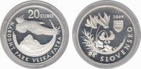 20 Euro 2009 Slovakia Natinal Par Velka Fatra Proof in Capsule  34,18 EUR  zzgl. 10,00 EUR Versand
