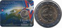 2 Euro 2014 Slovakia 10 Years Member of the Euro. Bu  9,95 EUR  +  10,00 EUR shipping