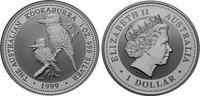 1 Dollar 1999 Australien Kookaburra 1oz Silver. Unc in Capsule  32,95 EUR  +  10,00 EUR shipping