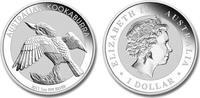 1 Dollar 2011 Australien Kookaburra 1oz Silver Unc in Capsule  32,95 EUR  +  10,00 EUR shipping