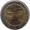 2 Euro 2010 France Charles de Gaulle Unc  3,95 EUR  zzgl. 10,00 EUR Versand