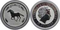 Australia 30 Dollar 2002 Bu in Capsule Lunar 1 Year of the Horse Very Rare 1295,00 EUR