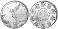 5 Onza 2010 Mexico Libertad / Siegesgöttin Unc  143,95 EUR  zzgl. 10,00 EUR Versand