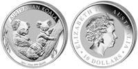 10 Dollar 2011 Australia Koala 10 Ounces Silver! Unc in Capsule  296,11 EUR  zzgl. 10,00 EUR Versand
